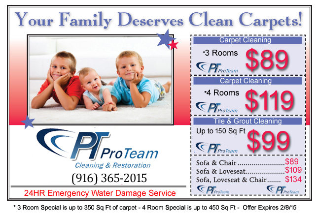 Current Specials Carpet Cleaning Folsom